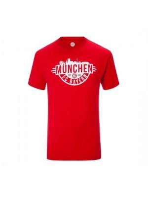 FC Bayern Munchen T-shirt Munich Kids Red