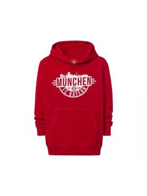 FC Bayern Munchen Hoodie Munich Kids red
