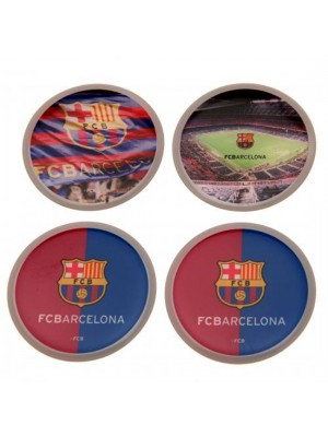 FC Barcelona 3D Stickers 4 Pack
