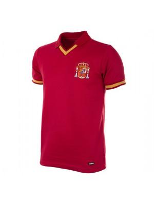 Spain 1988 Short Sleeve Retro Football Shirt