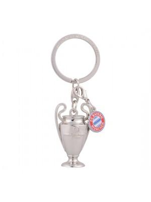 FC Bayern Munchen Keyring UCL Trophy