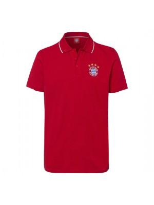 FC Bayern Munchen Polo Classic Red