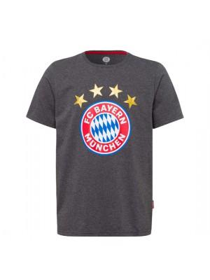 FC Bayern Munchen Shirt Logo Anthracite