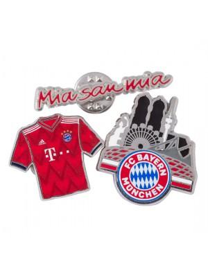 FC Bayern Munchen Pin (Set of 3)