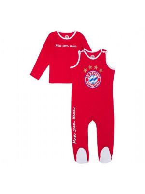 FC Bayern Munchen Baby Romper Logo