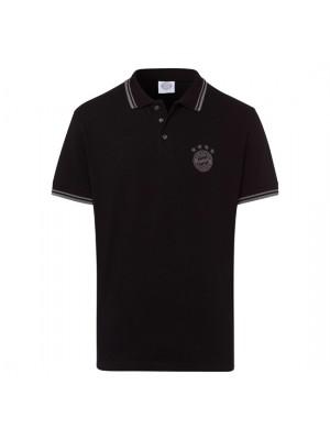 FC Bayern Munchen Polo shirt Emblem Black