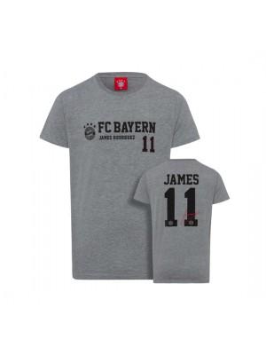 FC Bayern Munchen Shirt James Kids