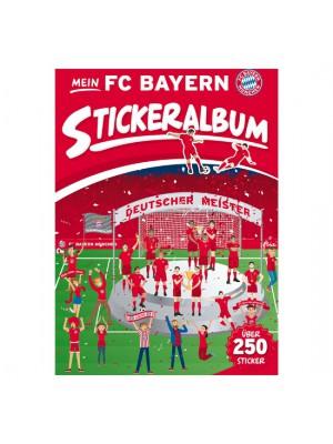 FC Bayern Munchen Sticker Album Set