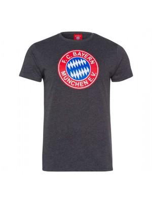 FC Bayern Munchen T-Shirt Retro grey