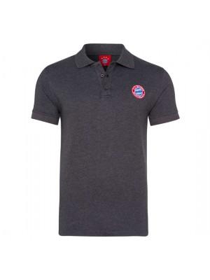 FC Bayern Munchen Poloshirt Retro grey