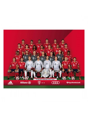 FC Bayern Munchen Postcard Set Player 30 Pieces