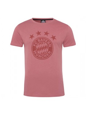 FC Bayern Munchen T-Shirt Emblem Dusky pink