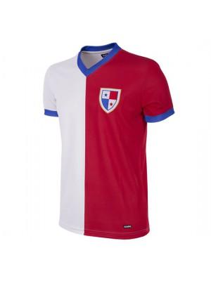 Panama 1986 Short Sleeve Retro Football Shirt
