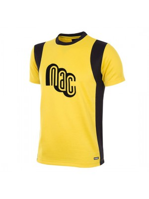 NAC Breda 1981 - 82 Short Sleeve Retro Football Shirt