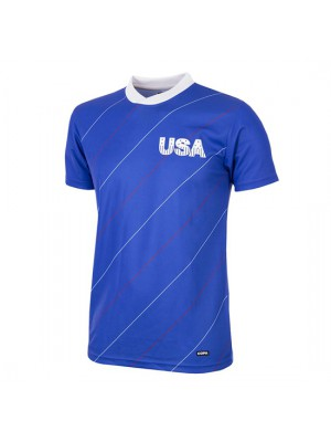USA 1984 Short Sleeve Retro Football Shirt