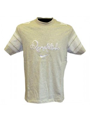 Ronaldinho R10 summer top - grey-white