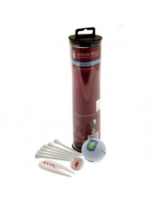 Aston Villa FC Golf Gift Tube