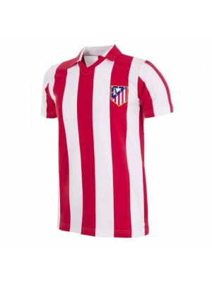 Atletico de Madrid 1985 - 86 Retro Football Shirt