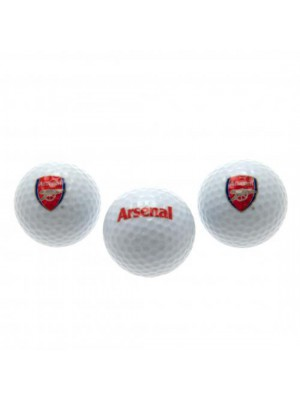 Arsenal FC Golf Balls
