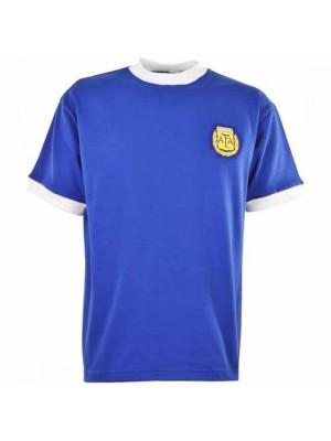 Argentina 1986 World Cup Away Maradona 10 Football Shirt