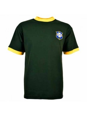 Brazil 1960s Away Retro Football Shirt