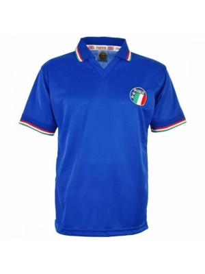 Italy 1990 World Cup Home Retro Football Shirt