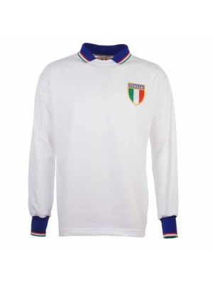 Italy 1983 Away Retro Football Shirt