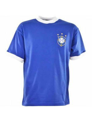 Brazil 1971 3 Star Retro Football Shirt