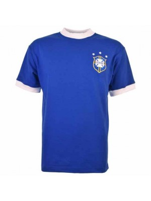 Brazil 1974 World Cup Retro Football Shirt