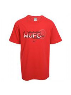 Manchester United club t-shirt 2009 - red - youth