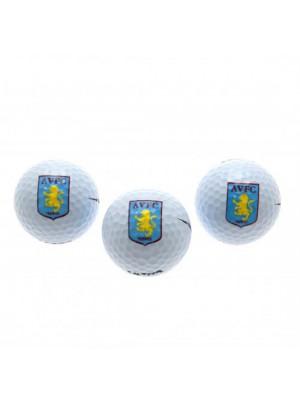 Aston Villa FC Golf Balls
