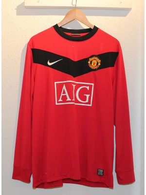 Manchester United home jersey L/S 2009/10