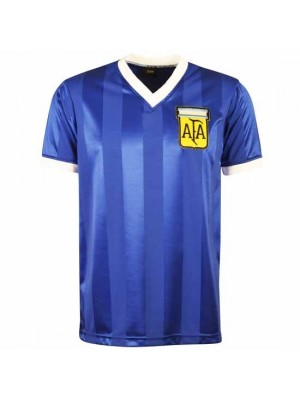 Argentina 1986 World Cup Away Retro Football Shirt