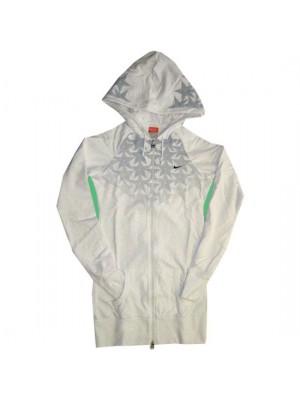 full zipper hoody top - womens