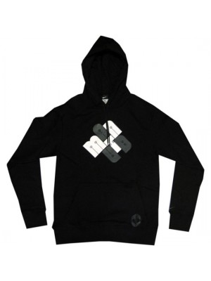 Manchester United hoody sweatshirt 2010/11 - black - youth