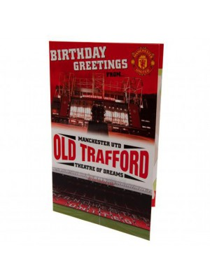 Manchester United FC Pop Up Birthday Card