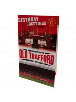 Manchester United FC Pop Up Birthday Card