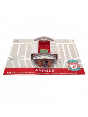 Liverpool FC fødselsdagskort - Pop-Up Birthday Card