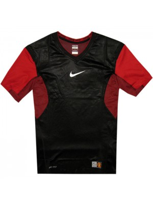 Manchester United vapor neck top 2010/11 - black-red