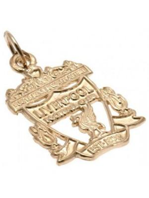Liverpool FC 9ct Gold Pendant Crest