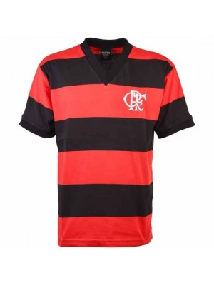Flamengo 1960S Short Sleeve Retro Football Shirt