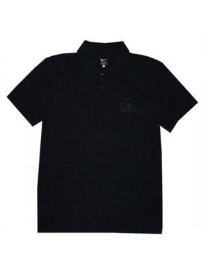 Manchester United polo shirt pure 2010/11 - all black