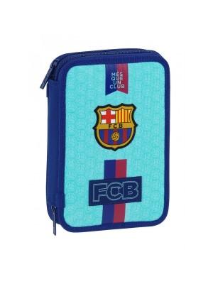 FC Barcelona filled pencil case - Azul Grana