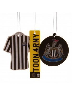 Newcastle United FC 3 Pack Air Freshener