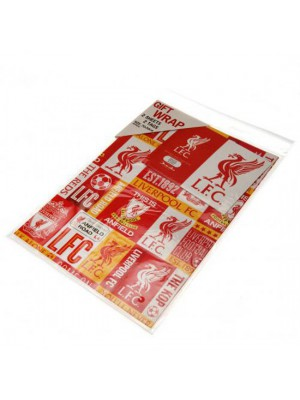 Liverpool FC gavepapir - Gift Wrap