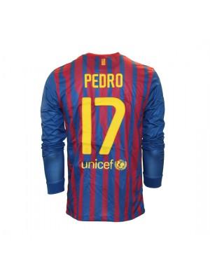Barcelona hjemme trøje L/Æ 2011/12 - Pedro 17