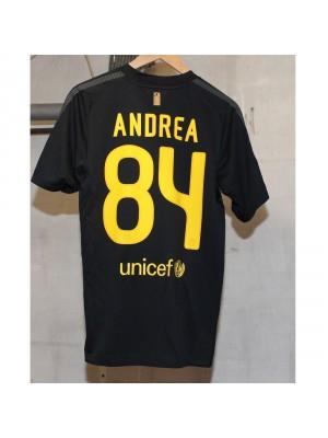 FC Barcelona away jersey - Andrea 84