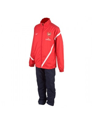 Arsenal training suit 2011/12 - youth - red navy