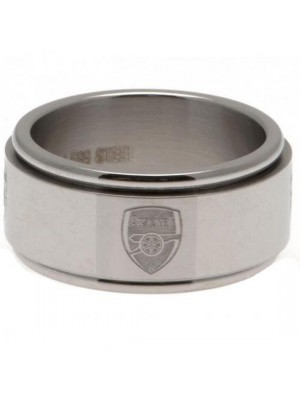 Arsenal FC Spinner Ring Large