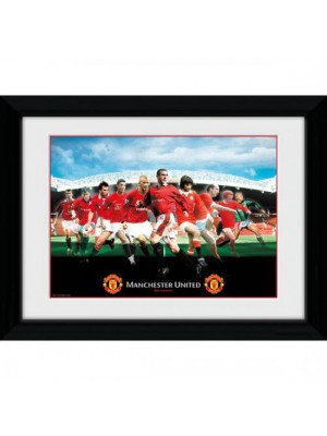 Manchester United FC Picture Legends 16 x 12